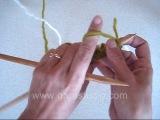 Набор петель для резинки 1х1 с эластичным краем